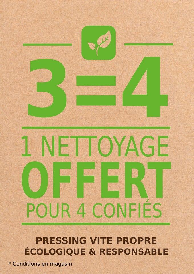 offre 3=4 pressing écologique vite propre